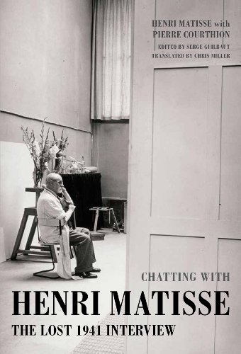 9781849762298: Chatting with Henri Matisse: The Lost 1941 Interview