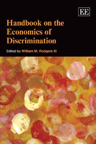 9781849800129: Handbook on the Economics of Discrimination (Elgar Original Reference)