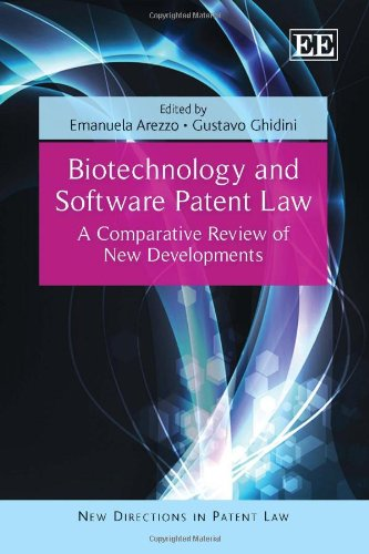 9781849800402: Biotechnology and Software Patent Law: A Comparative Review of New Developments (New Directions in Patent Law Series)