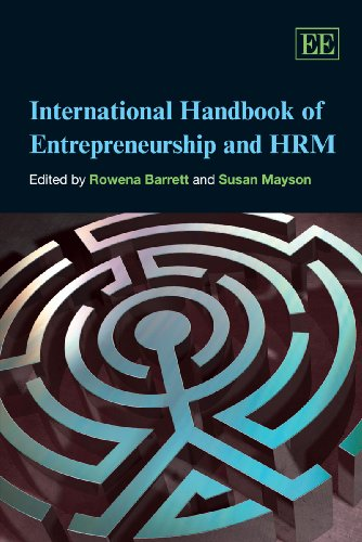9781849800501: International Handbook of Entrepreneurship and HRM (Research Handbooks in Business and Management Series)