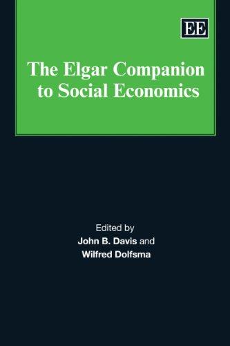 9781849800853: The Elgar Companion to Social Economics