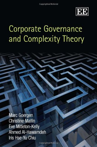 9781849801041: Corporate Governance and Complexity Theory