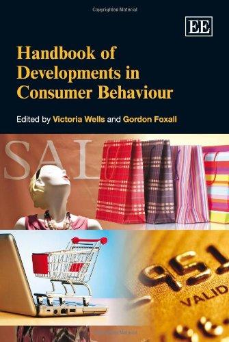 9781849802444: Handbook of Developments in Consumer Behaviour (Elgar Original Reference) (Research Handbooks in Business and Management Series)