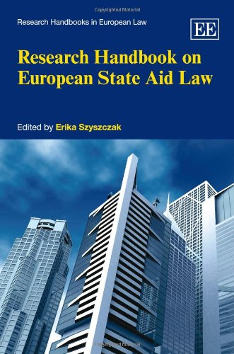 9781849802741: Research Handbook on European State Aid Law