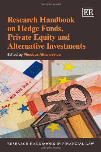 Research Handbook on Hedge Funds, Private Equity and Alterna (Hardcover): Phoebus Athanassiou