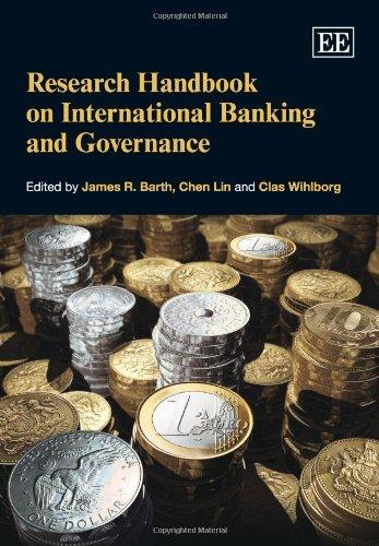 9781849802932: Research Handbook on International Banking and Governance (Elgar Original Reference)