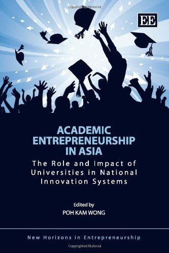 9781849803076: Academic Entrepreneurship in Asia: The Role and Impact of Universities in National Innovation Systems (New Horizons in Entrepreneurship series)