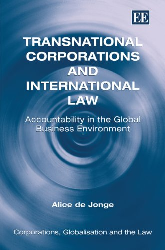 9781849803687: Transnational Corporations and International Law: Accountability in the Global Business Environment (Corporations, Globalisation and the Law Series)