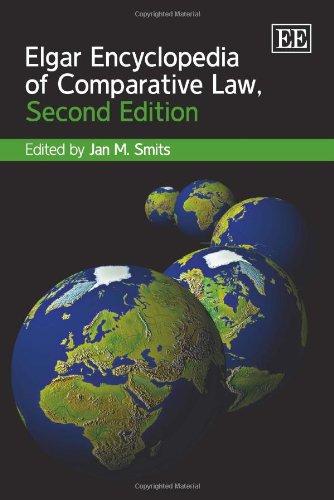 9781849804158: Elgar Encyclopedia of Comparative Law