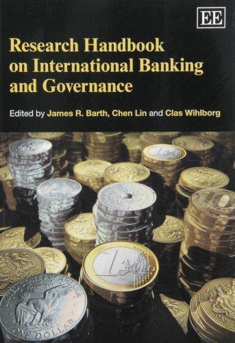 9781849806107: Research Handbook on International Banking and Governance (Elgar Original Reference)