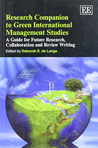 9781849807272: Research Companion to Green International Management Studies: A Guide for Future Research, Collaboration and Review Writing (Elgar Original Reference)