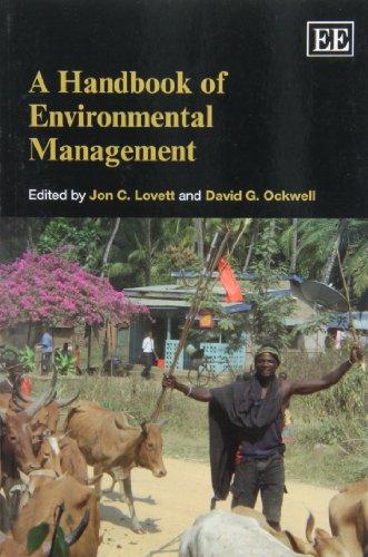 9781849808255: A Handbook of Environmental Management (Elgar Original Reference)