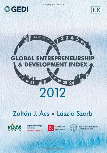 9781849808439: Global Entrepreneurship and Development Index 2012 (Elgar Original Reference)