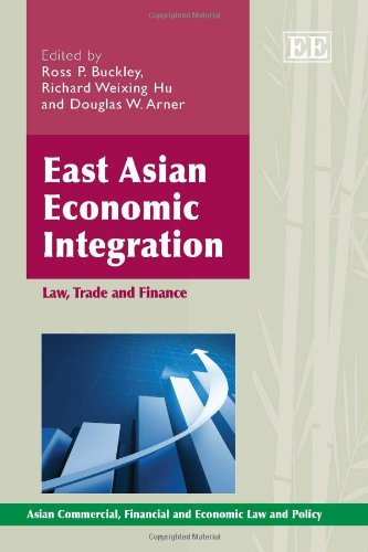 9781849808682: East Asian Economic Integration: Law, Trade and Finance (Asian Commercial, Financial and Economic Law and Policy Series)