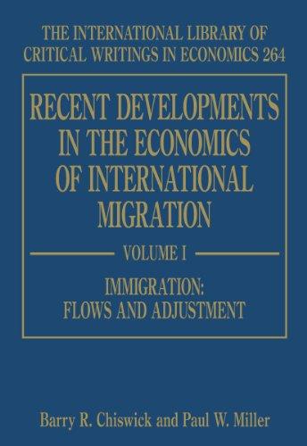 Recent Developments in the Economics of International Migration (Hardback)