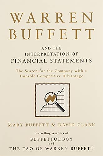 9781849833196: Warren Buffett and the Interpretation of Financial Statements