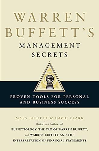 9781849833233: Warren Buffett's Management Secrets