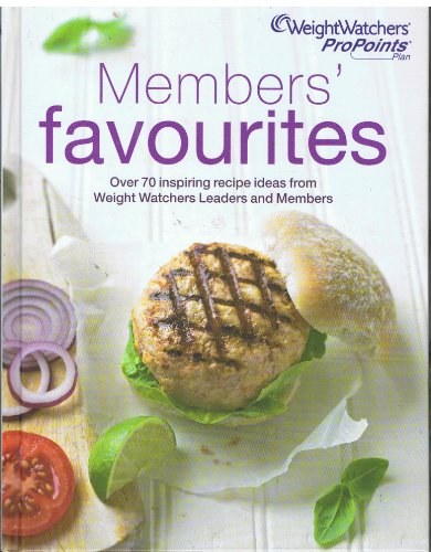 9781849839358: Weightwatchers Members' Favourites Pro Points Cookbook 2012