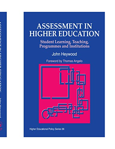 9781849850049: Assessment in Higher Education: Student Learning, Teaching, Programmes and Institutions