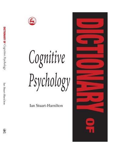 Dictionary of Cognitive Psychology [Broché] [Jun 01,