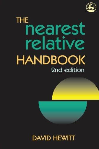 9781849856461: The Nearest Relative Handbook: Second Edition