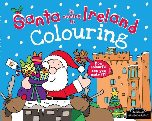 9781849935883: Santa is Coming to Ireland Colouring