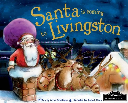 9781849938228: Santa is Coming to Livingston