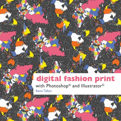 9781849940047: Digital Fashion Print with Photoshop and Illustrator