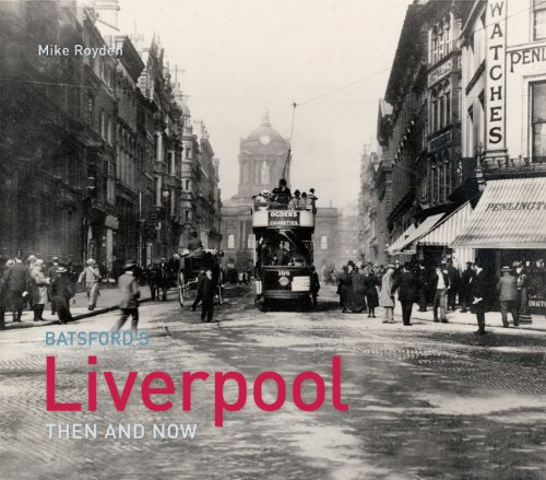 9781849940412: Liverpool Then and Now. Jonathan Schofield