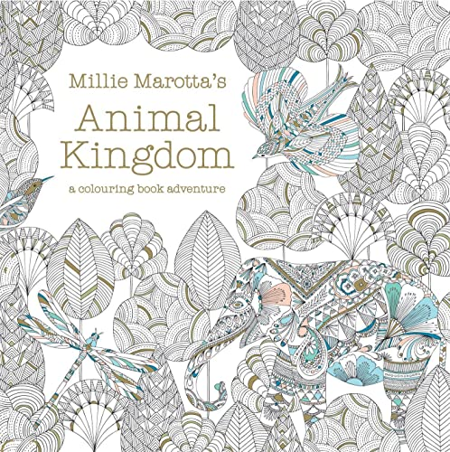 9781849941679: Millie Marotta's Animal Kingdom (Colouring Books)