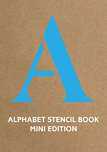 9781849942867: Alphabet Stencil Book: Blue