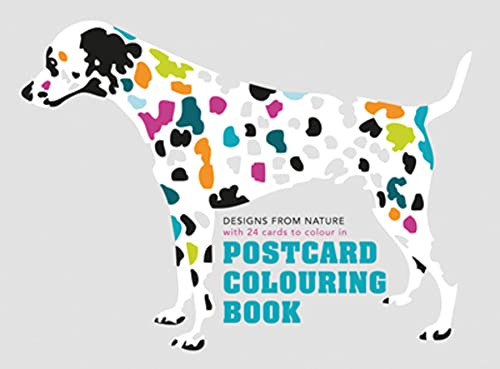 9781849942874: Postcard Coloring Book: Designs from Nature with 24 Cards to Color In
