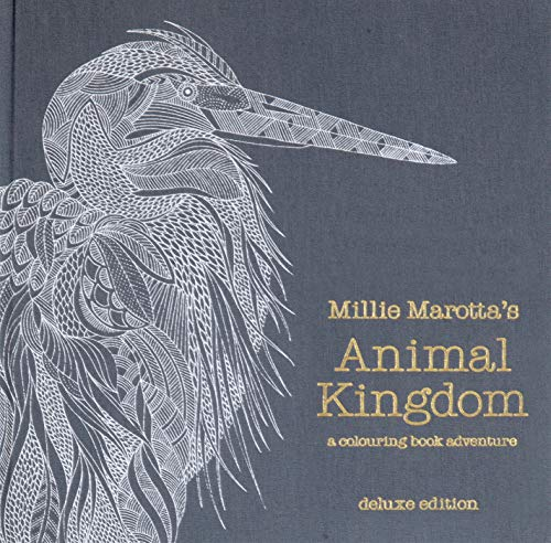9781849943291 Millie Marottas Animal Kingdom Deluxe Edition A Colouring Book Adventure
