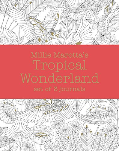 9781849943475: Millie Marotta's Tropical Wonderland - Journal Set: 3 Notebooks (Colouring Books)