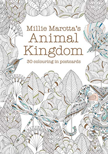 9781849943536: Millie Marotta's Animal Kingdom Postcard Book: 30 beautiful cards for colouring in (Colouring Books)