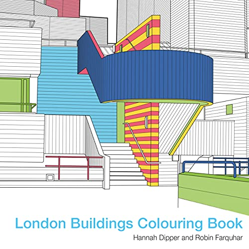 9781849943550: London Buildings Colouring Book (Colouring Books)