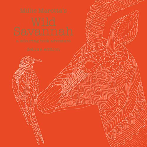9781849943871: Millie Marotta's Wild Savannah Deluxe Edition: a colouring book adventure