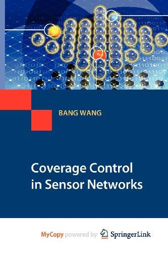 9781849960601: Coverage Control in Sensor Networks