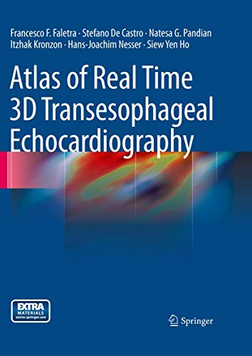 9781849960823: Atlas of Real Time 3D Transesophageal Echocardiography