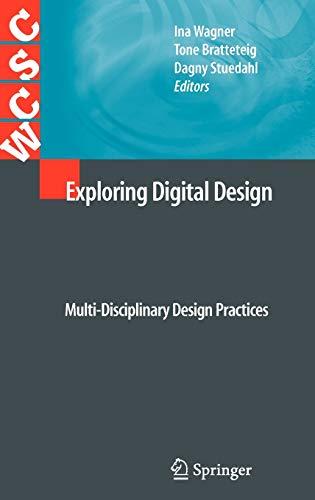 9781849962223: Exploring Digital Design: Multi-Disciplinary Design Practices (Computer Supported Cooperative Work)