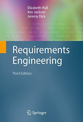 9781849964043: Requirements Engineering