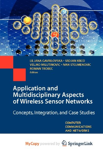 9781849965118: Application and Multidisciplinary Aspects of Wireless Sensor Networks