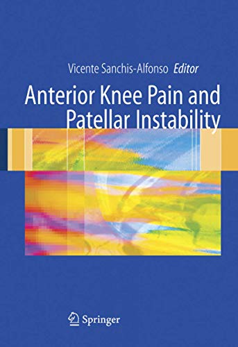 9781849965408: Anterior knee pain and patellar instability