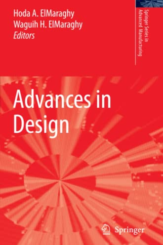 9781849965415: Advances in Design (Springer Series in Advanced Manufacturing)