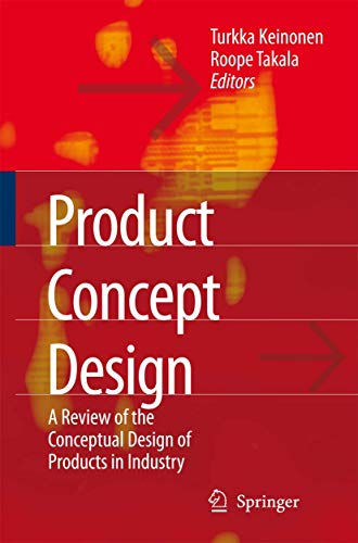 9781849965569: Product Concept Design: A Review of the Conceptual Design of Products in Industry