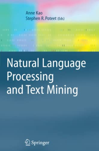 9781849965583: Natural Language Processing and Text Mining