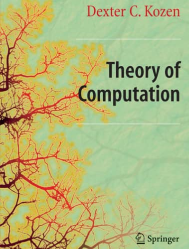 9781849965712: Theory of Computation (Texts in Computer Science)