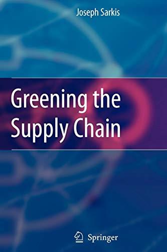 Greening the Supply Chain: Springer