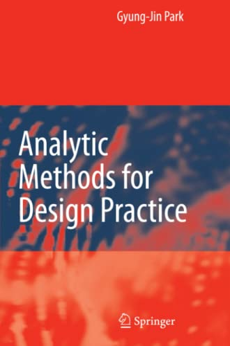 9781849966078: Analytic Methods for Design Practice