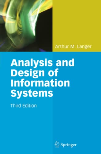 9781849966399: Analysis and Design of Information Systems